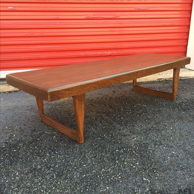 Mid Century Modern Walnut Coffee Table - Image 2 of 10
