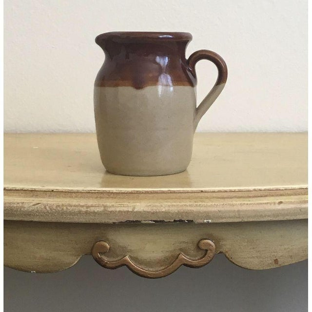 Brown Betty Rustic Cream Pitcher Bud Vase - Image 2 of 5
