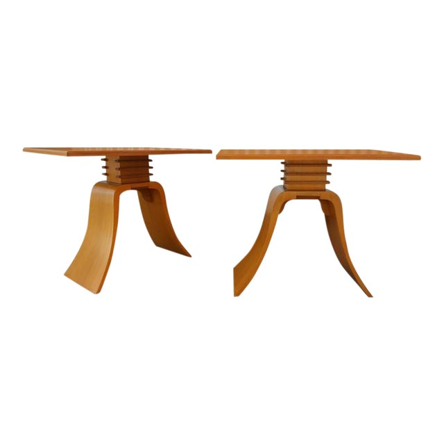"Paul Frankl ""Bell"" End Tables - Image 1 of 8"