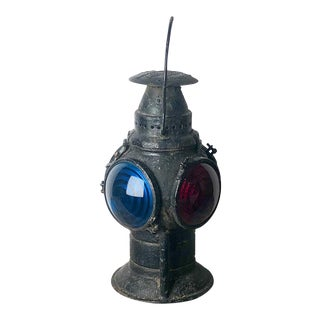Railroad Signaling Lantern For Sale