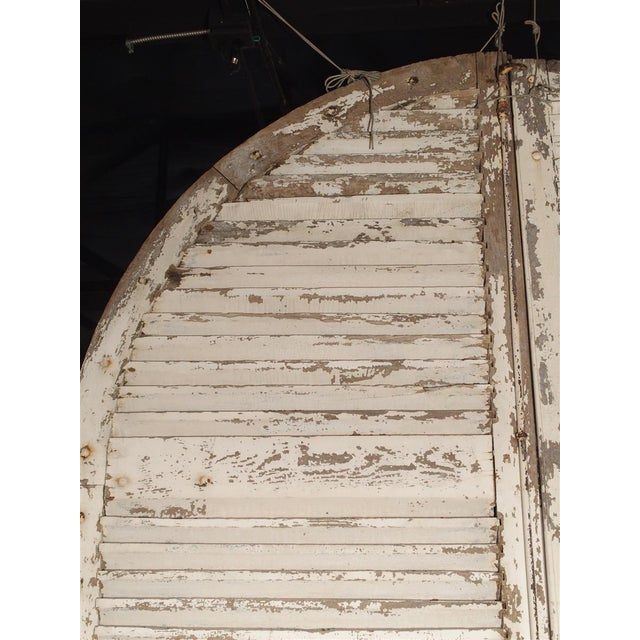 French Pair of Large Antique French Door Shutters From a Chateau, 19th Century For Sale - Image 3 of 13