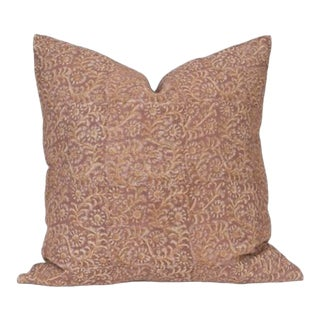 Amber Interiors Pink Pillow For Sale