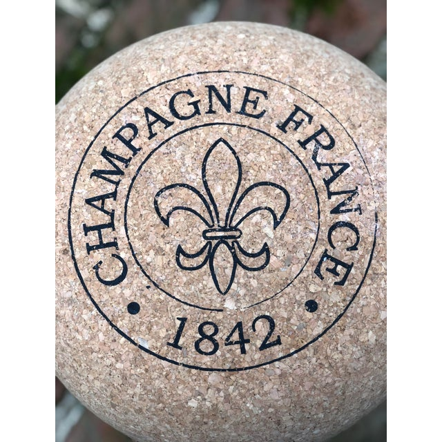 2010s Champagne Cork Side Table For Sale - Image 5 of 10