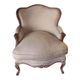 19th Century French Bergere Armchairs - a Pair For Sale