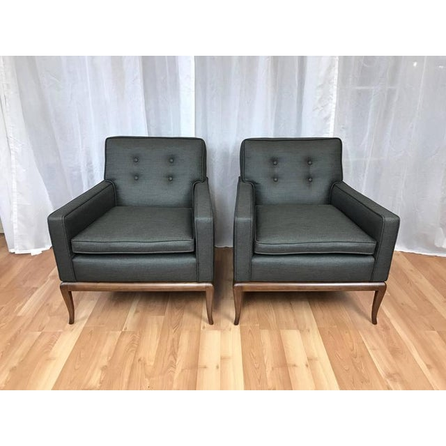 Robsjohn-Gibbings for Widdicomb Lounge Chairs - A Pair - Image 7 of 9