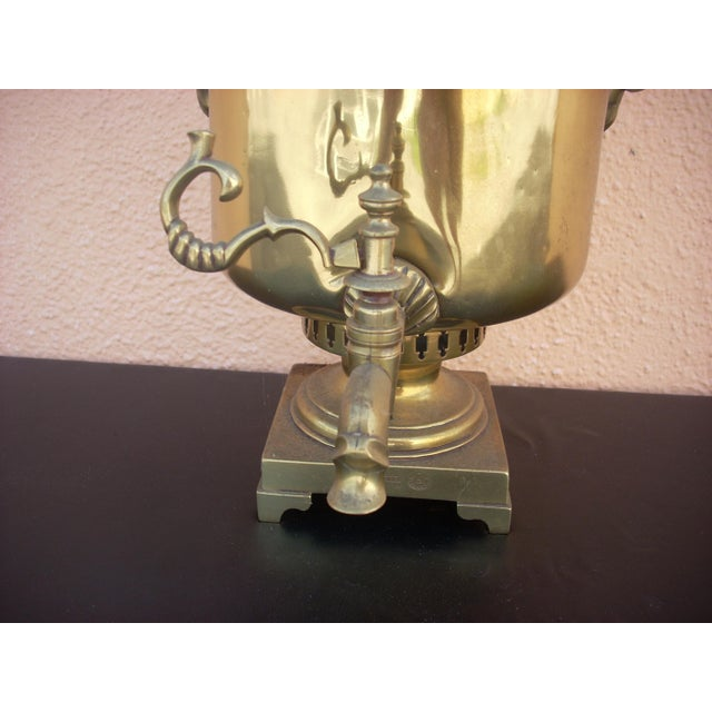 Antique Russian Samovar For Sale - Image 4 of 10