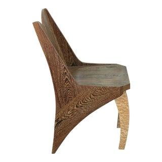 Zebra Wood Single Chair