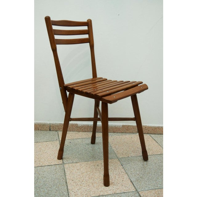 Antique garden chair by J. & J. Kohn, 1900 For Sale - Image 10 of 11