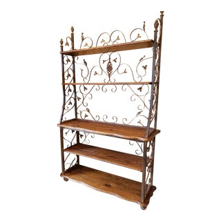 Handmade Bookcase With Reclaimed Wood For Sale