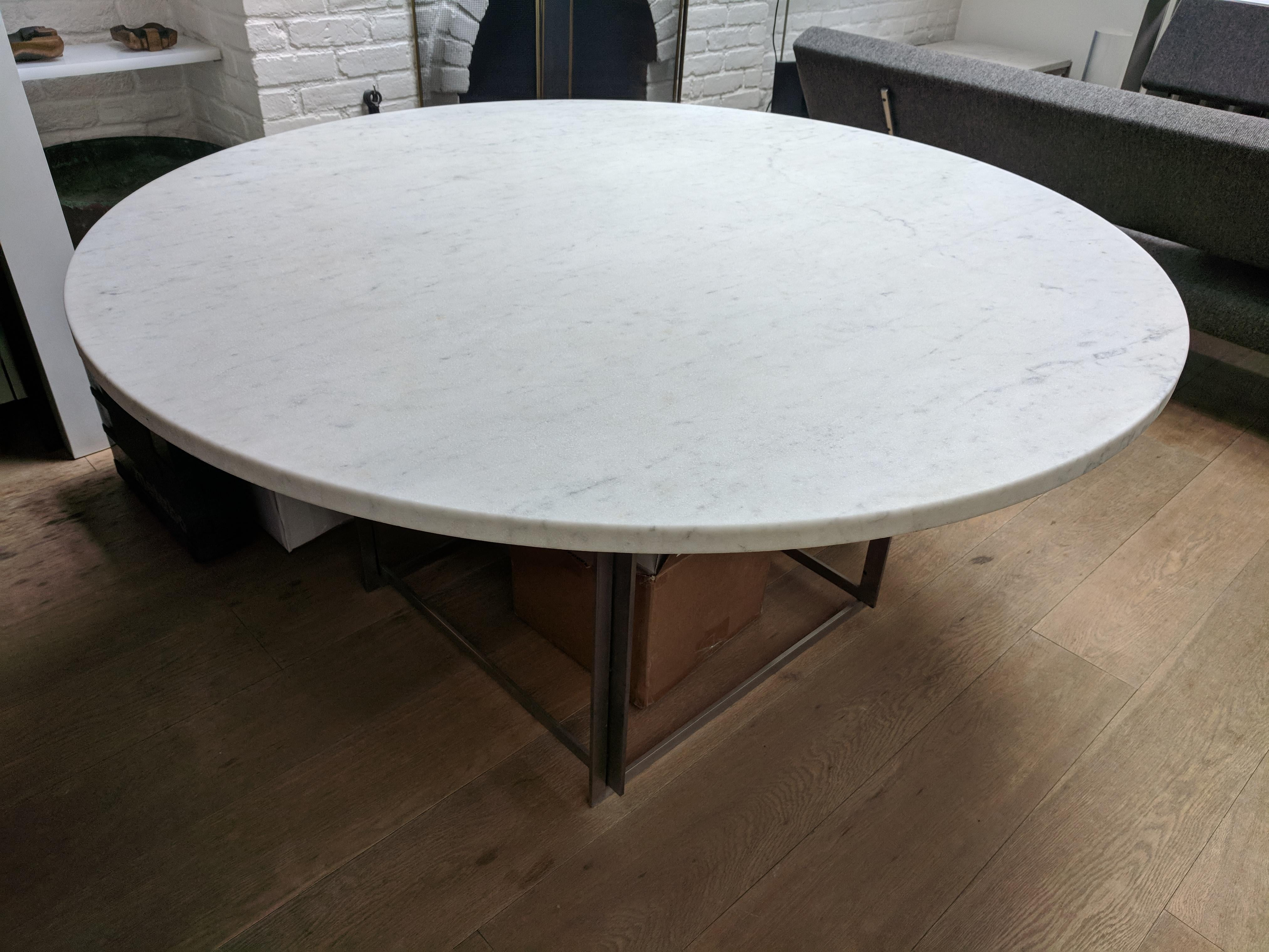 furniture poul kjaerholm pk54. Poul Kjaerholm PK54 Dining Table - Image 2 Of 3 Furniture Pk54