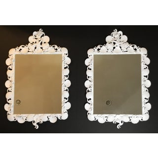 Pair of Sea Shell Iron Mirror Preview