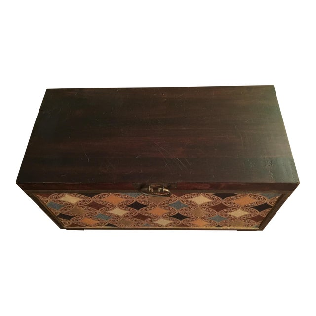 Moroccan Style Trunk - Image 1 of 6