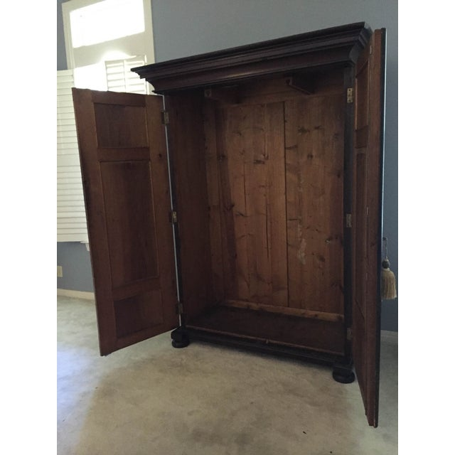 Hand Painted Czech Armoire - Image 5 of 5