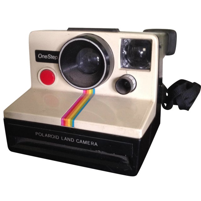 Vintage Polaroid One Step Land Camera For Sale