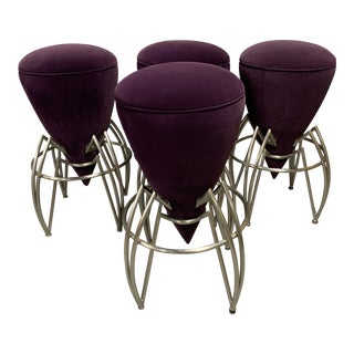 Post Modern Spider Stools - Set of 4 For Sale