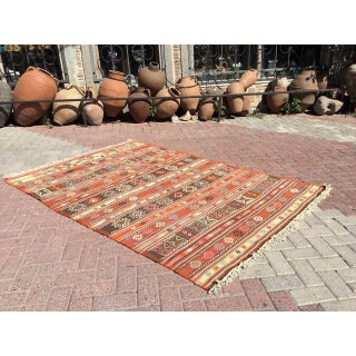 Vintage Turkish Kilim Rug Preview