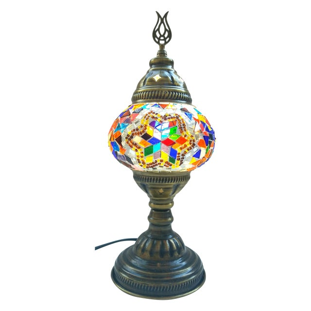 Handmade Mosaic Table Lamp - Image 1 of 5