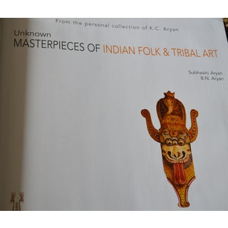 """""""Unknown Masterpieces Of Indian Folk & Tribal Art"""" Large Coffee Table Book Preview"""
