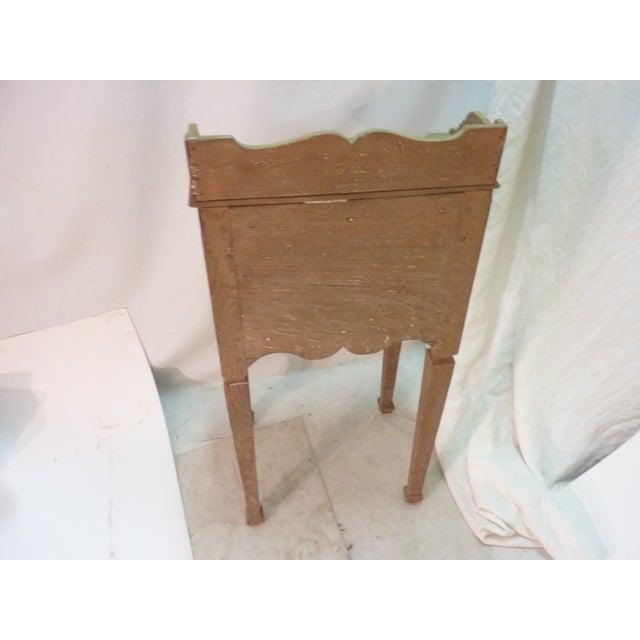 Antique Weathered Scandinavian Nightstand - Image 5 of 5