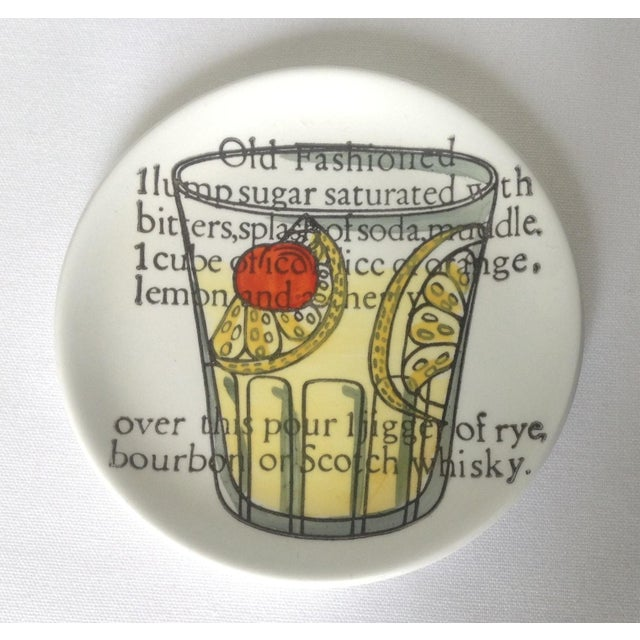 Piero Fornasetti Drinks Coasters - Set of 6 For Sale - Image 5 of 11