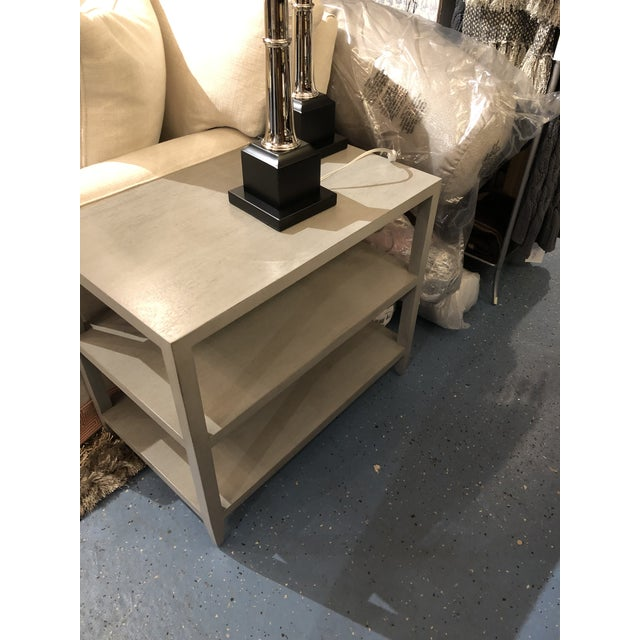 Modern Hollywood Regency Highland House Anderson Side Table For Sale - Image 3 of 7