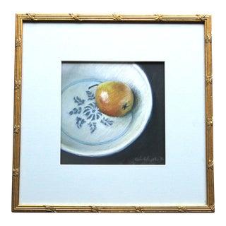 1990s Paula Kolojeski Signed Original Still Life Drawing For Sale