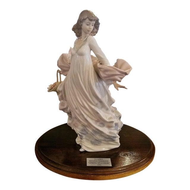 Lladro Spanish Porcelain Figurine of Spring Splendor (Retired) For Sale