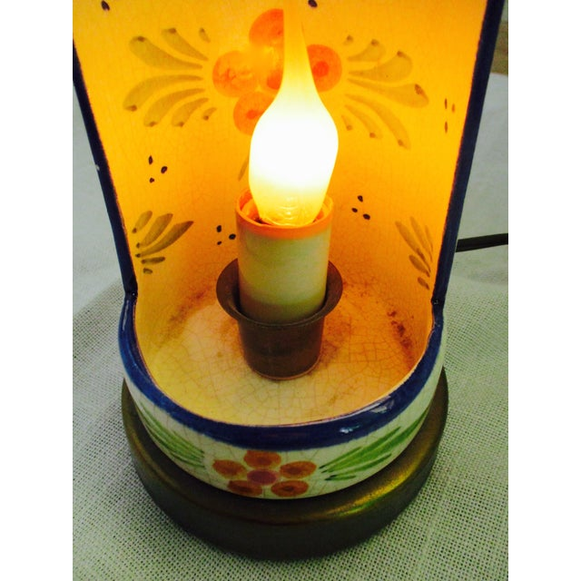 Boho Glam Ceramic Antique Candle Light - Image 3 of 10
