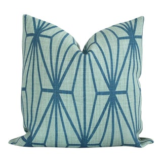 p crewel stitch teal zulily del main pillow throw home levtex ray