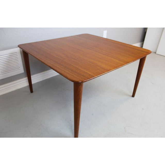 Finn Juhl Teak Side Table For Sale - Image 5 of 7