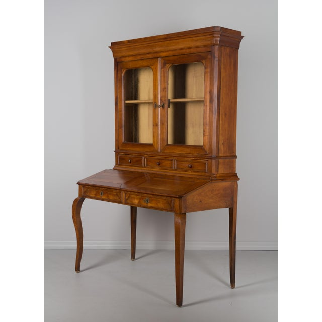 Late 19th Century Antique French Country Style Slant Top Desk For Sale - Image 11 of 11