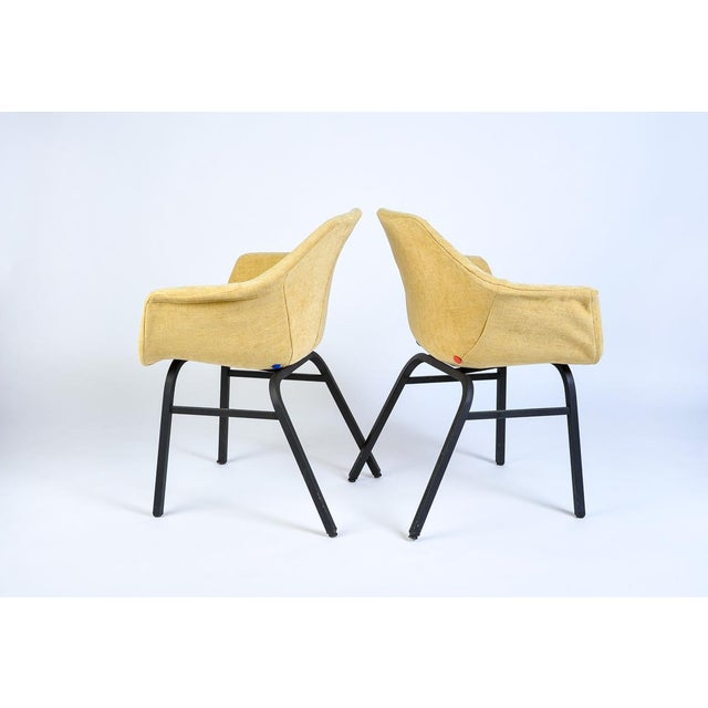 1950s Mid-Century Modern Eames Chairs - a Matched Pair For Sale - Image 5 of 7