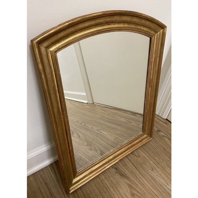 French Early 19th Century Giltwood Louis Philippe Mirror For Sale - Image 3 of 8