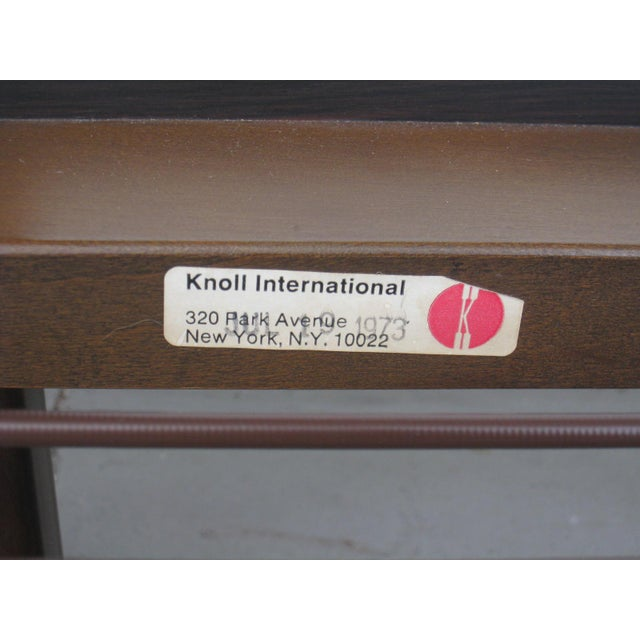Scarpa for Knoll 'Bastiano' Sofa & Chair For Sale - Image 12 of 13