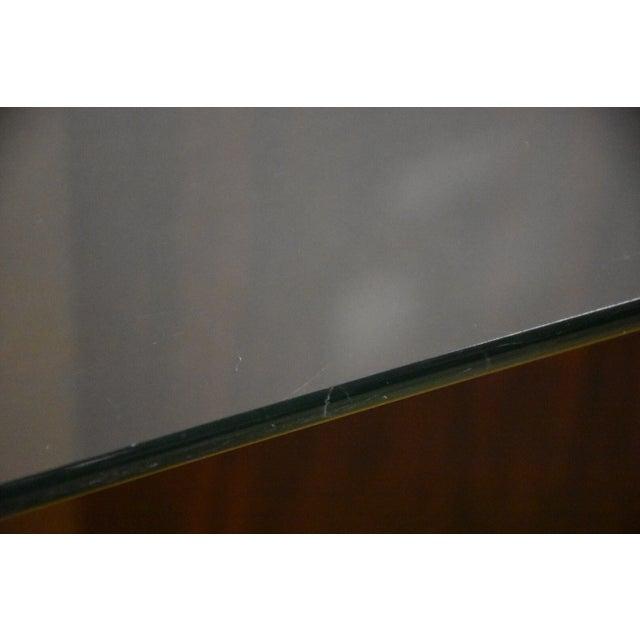 Mid-Century Rosewood & Glass Danish Coffee Table - Image 4 of 10