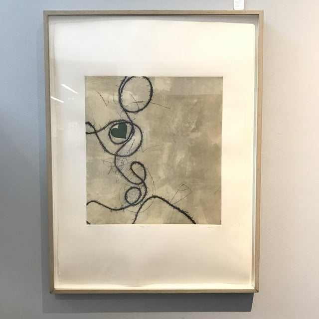 Contemporary Framed Signed Lithograph - Image 2 of 8