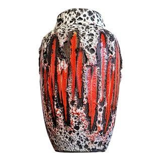 Scheurich Keramik 'Lora' Decor Volcanic Vase Nr. 549/21 For Sale