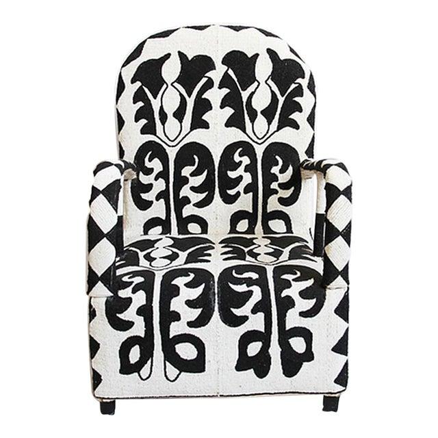 Beaded Yoruba Arm Chair - Image 1 of 5