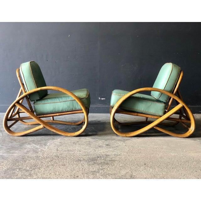 Tan Paul Frankl Pretzel Settee Set For Sale - Image 8 of 13