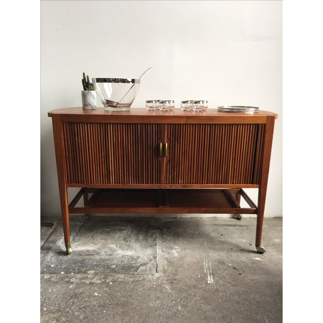Mid-Century Drexel Bar Cart by Kipp Stewart - Image 5 of 7