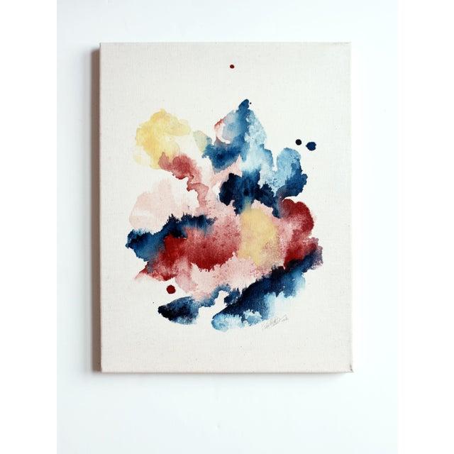 """Ellen Sherman """"Improbable Landscape"""" Painting - Image 2 of 5"""