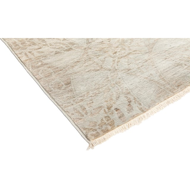 "Vibrance Hand Knotted Runner Rug - 2' 5"" X 11' 5"" - Image 2 of 4"