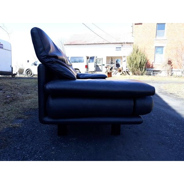Black B & B Italia, Alanda Sofa by Paolo Piva For Sale - Image 8 of 13
