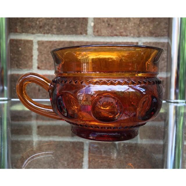 Vintage Amber Kings Crown Coffee Cups - Set of 20 - Image 3 of 6