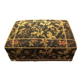 Vintage Mid Century Domain Multi-Purpose Victoria-Style Ottoman For Sale