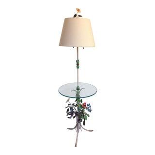 Vintage Italian Tole Floor Lamp