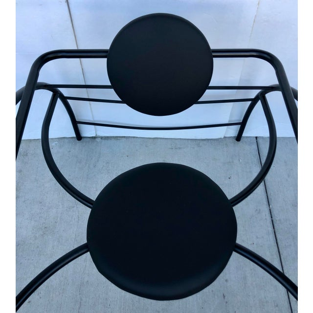 Metal Quebec 69 Spider Chair by Les Amisca For Sale - Image 7 of 8