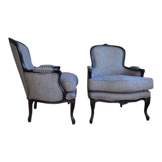 Modern Ralph Lauren St Germain Lounge Chairs- A Pair For Sale
