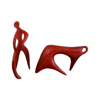 Mid-Century Modern Matador Ceramic Sculpture