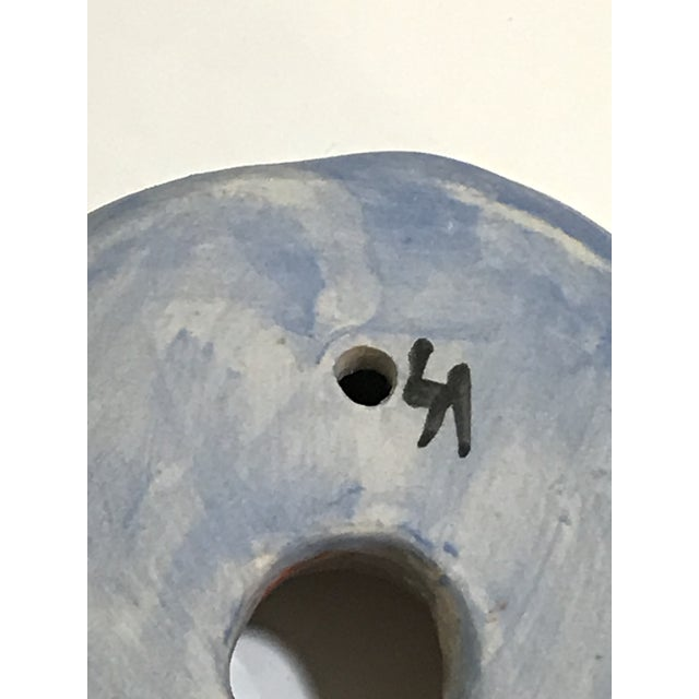 2010s Surface Ceramics Wall Donut For Sale - Image 5 of 6